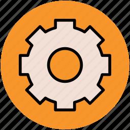 cog, cogwheel, gear, options, preference, setting icon