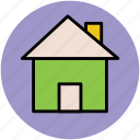 cottage, home, home page, house, hut, village icon