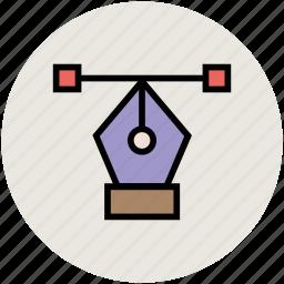 bezier, create shape, draw tool, illustrator shape, pen tool icon