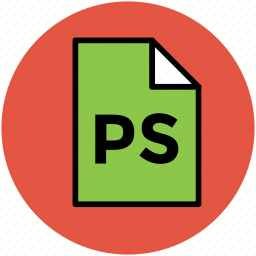 adobe photoshop, design file, extension file, photoshop file, ps, ps file icon