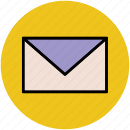 electronic mail, email, envelop, letter, message, text message icon