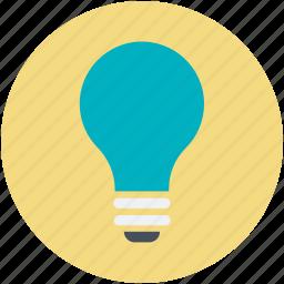 bulb, creative, creative mind, digital marketing, idea icon
