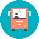 bus, public bus, public transport, public vehicle, transport icon