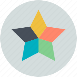 color, color combination, design, star combination, stars color icon
