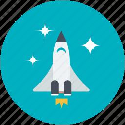 aircraft, airship, missile, rocket, spaceship icon