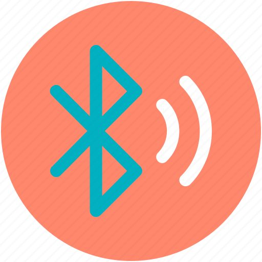 bluetooth, bluetooth wave, connection, signal, sync icon