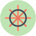 boat controller, boat steering, boat wheel, nautical, ship wheel icon