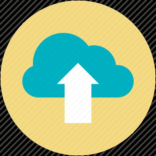 cloud computing, cloud informations, cloud storage, cloud upload, wireless internet icon