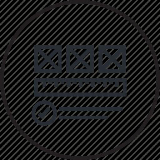 design, development, layout, line, website, wireframe icon