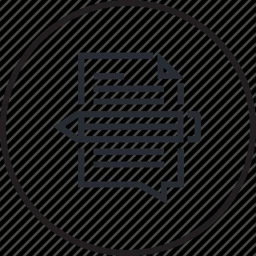 content, design, development, line, management, website icon