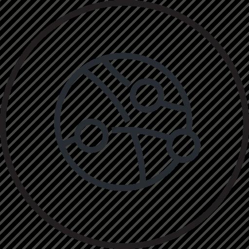 design, development, global, internet, line, networking icon