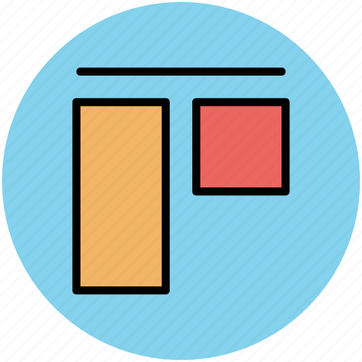 copy layers, designing, layers, line, rectangle tool, two rectangles icon