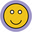 emoticon, feeling, skype feeling, smile, smiley, social media icon