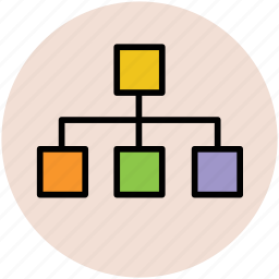 connection, hierarchy, hierarchy structure, network, structure icon