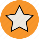 bookmark, favourite, like, star, star shape icon