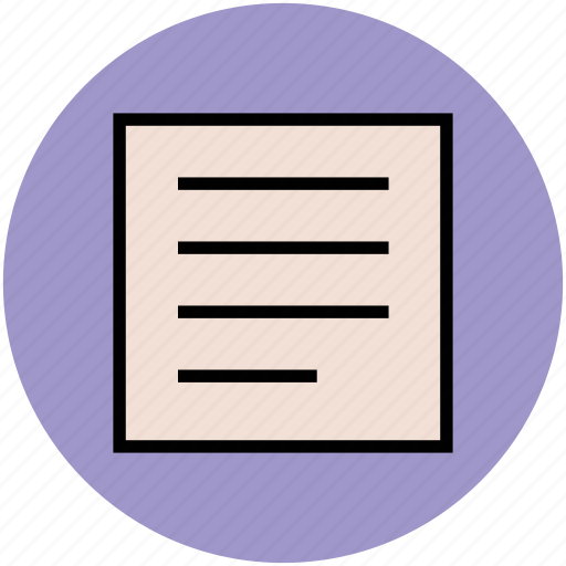document, file, page, paper, sheet, text file icon