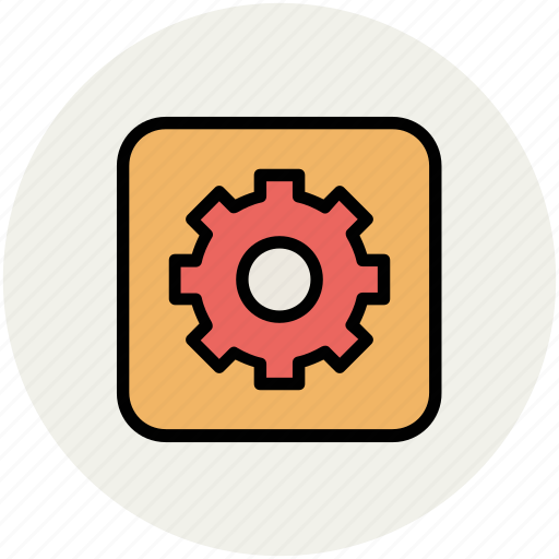 cog, cogwheel, gear, options, preference, setting icon