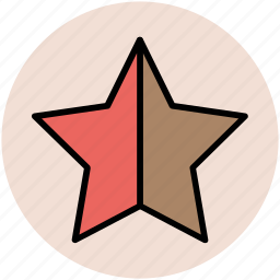 bookmark, favourite, ranking star, star, star shape icon