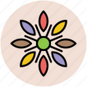 bloom, blossom, decoration flower, design flower, floral, flower icon