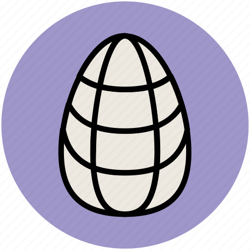 egg, egg shape, ornament, oval frame, oval shape icon