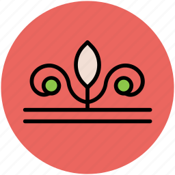 decoration, floral design, flowers variant, ornament icon