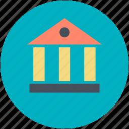 apex court, bank, court, court building, museum icon