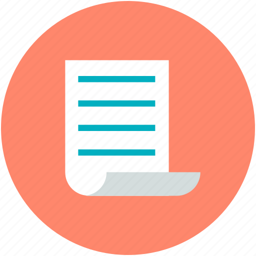 document, documents, jotter papers, notes, papers icon