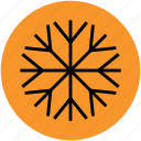 christmas, flake, flower, geometric, snow, snowflake, winter icon