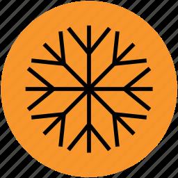christmas, flake, flower, geometric, snow, snowflake, winter icon