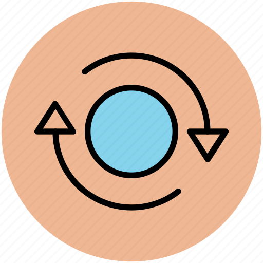 arrows, process, refresh, rotate, rotate sign, sync, update icon