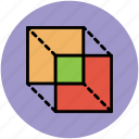 3d design, cubes, design, rectangle cubes icon