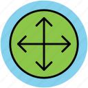 control tool, divider tool, interface, move tool, selection tool icon