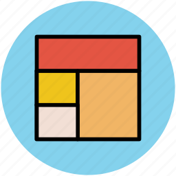 design, structure, web layout, web portion, webpage icon
