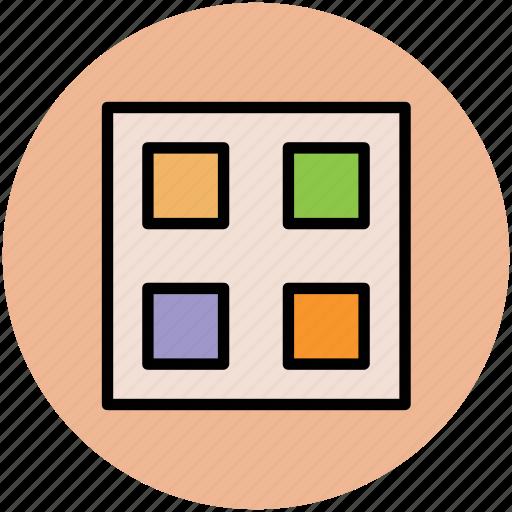 box, cubes, cubes box, design, web design icon