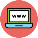 domain, link, url address, web service, website, world wide web icon