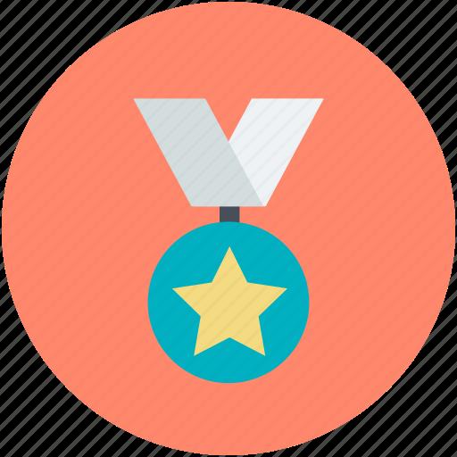 award, award badge, award ribbon, ribbon, star badge icon