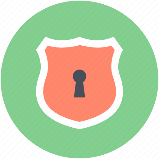 protection, security, shield, shield lock, shield sign icon