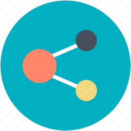 connection, connectivity, network, share, share symbol icon