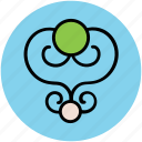 decoration, ecology, floral design, floral pattern, spirals flower icon