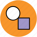 design tool, ellipse tool, rectangle, structure icon