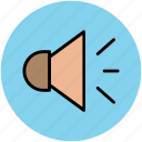 hailer, loudhailer, sound, speaker, voice, volume icon