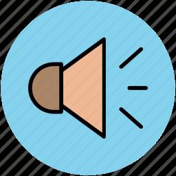 hailer, loudhailer, sound, speaker, voice, volume icon