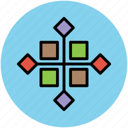 boxes, design, development, graphic design, graphic tool, graphics editor icon