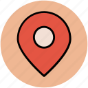gps, location pointer, map locator, map marker, map pin, navigation icon