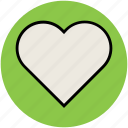 affection, heart, heart shape, like, love, passion icon