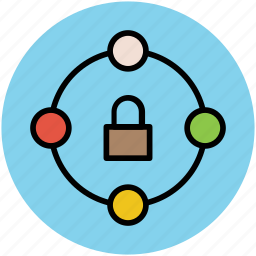 focus security, locked, padlock, protection, security icon