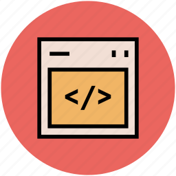 coding, div, div language, div style, html, programming, web programming icon
