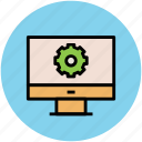 cog, cogwheel, gear, options, settings, web settings icon