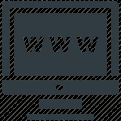 domain, globe, url, web searching, worldwide icon