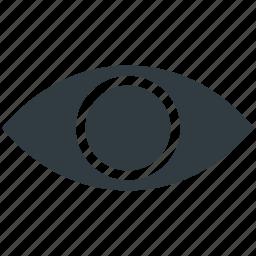 eye, view, visibility, visible, vision icon
